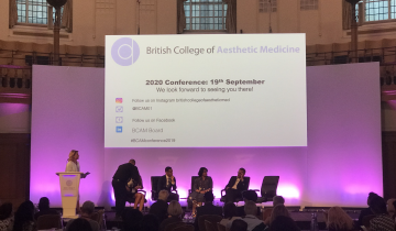 BCAM – British College of Aesthetic Medicine 2019